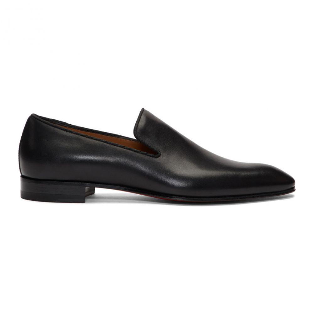 クリスチャン ルブタン Christian Louboutin メンズ ローファー シューズ・靴【Black Dandelion Loafers】Black