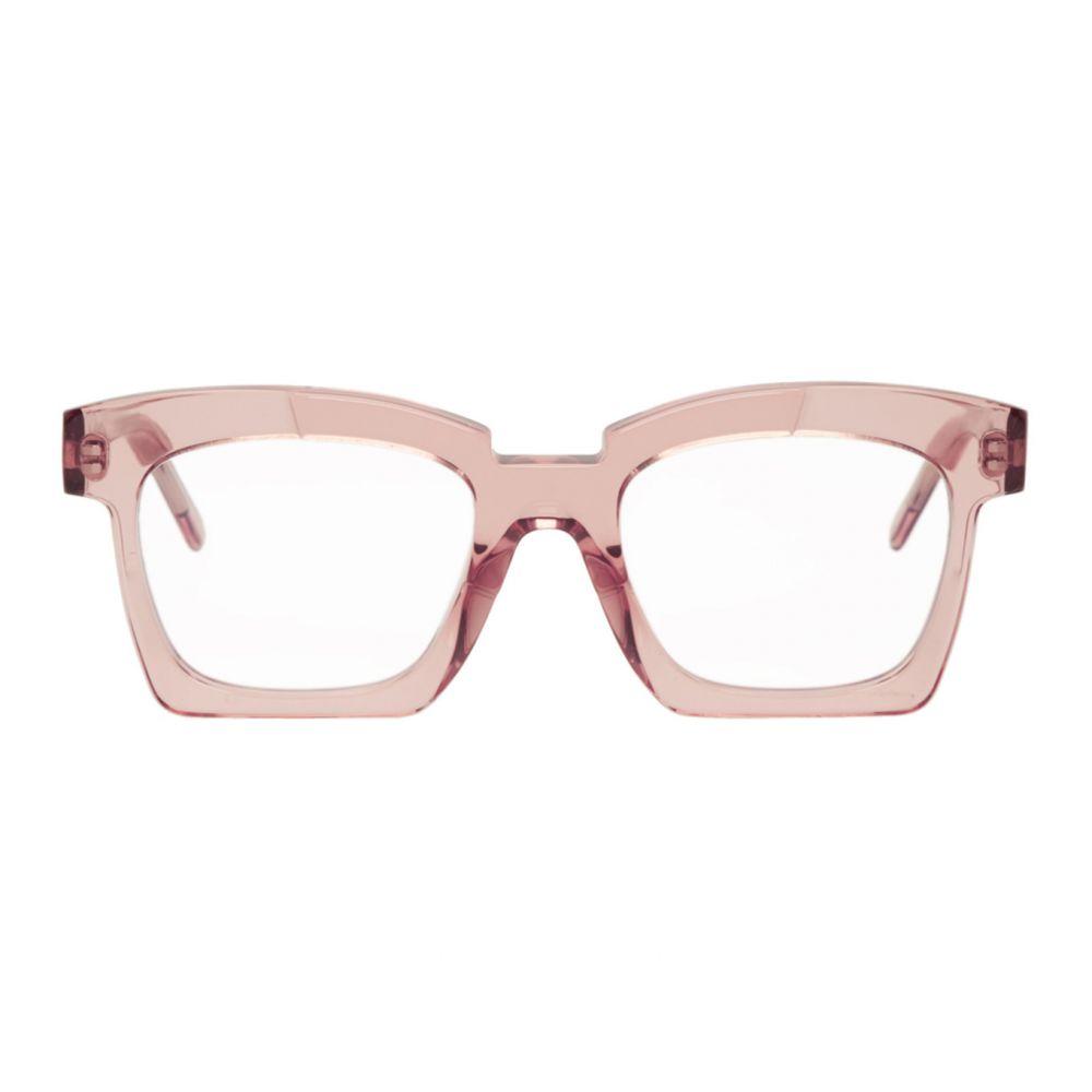 クボラム Kuboraum メンズ メガネ・サングラス 【Pink K5 RC Glasses】Pink transparent