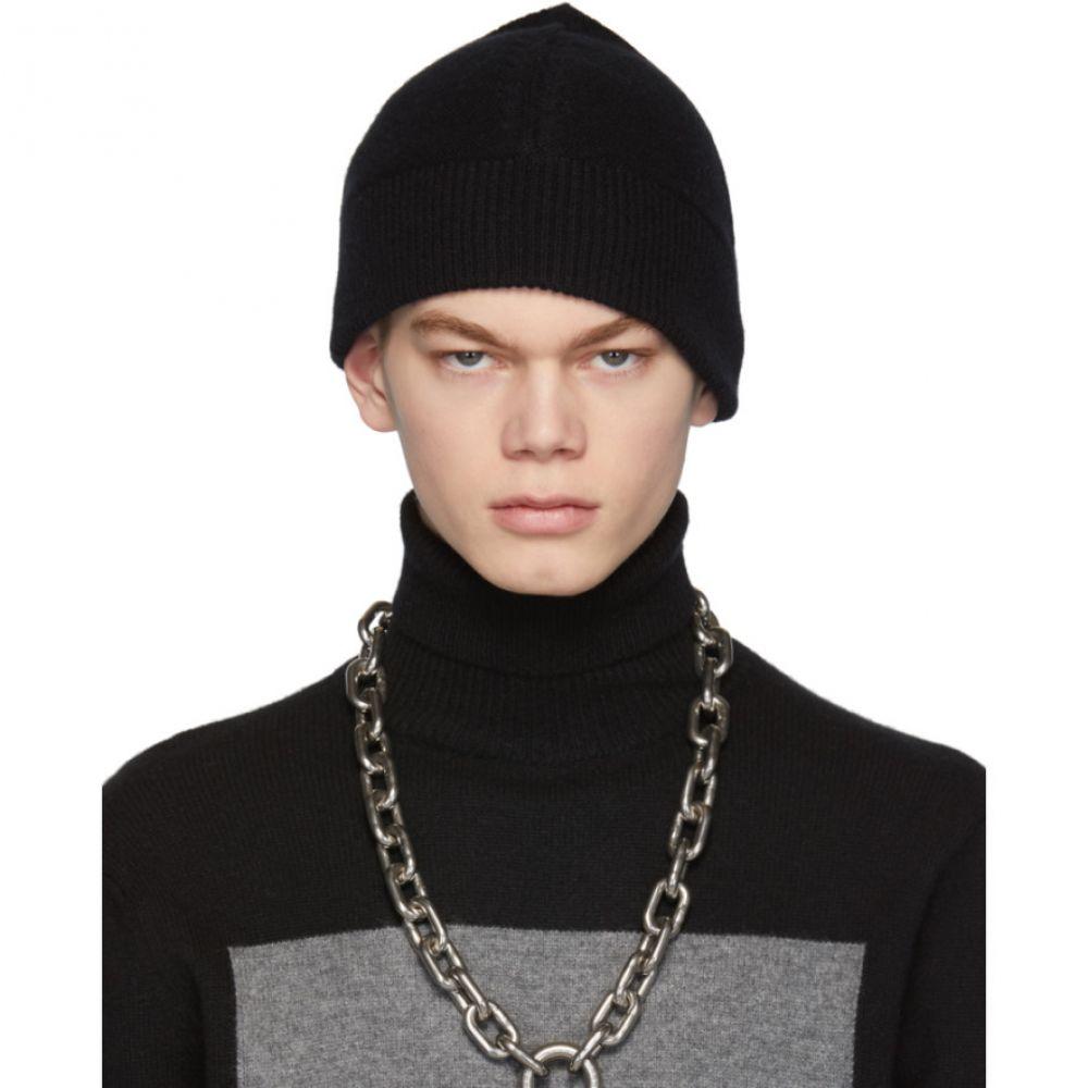 ランダム アイデンティティーズ Random Identities メンズ ニット ビーニー 帽子【Black Cashmere Beanie】