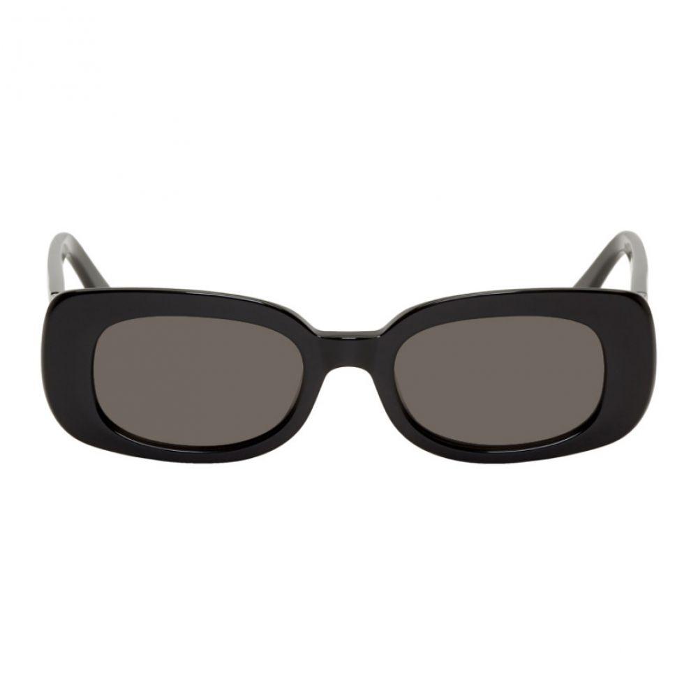 レーン RAEN メンズ メガネ・サングラス 【Black Exile Sunglasses】Black/Dark smoke