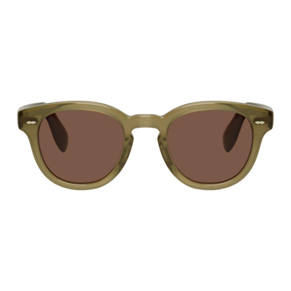 オリバーピープルズ Oliver Peoples メンズ メガネ・サングラス 【Green & Red Cary Grant Edition OV5413U Sunglasses】Dusty olive/Rosewood