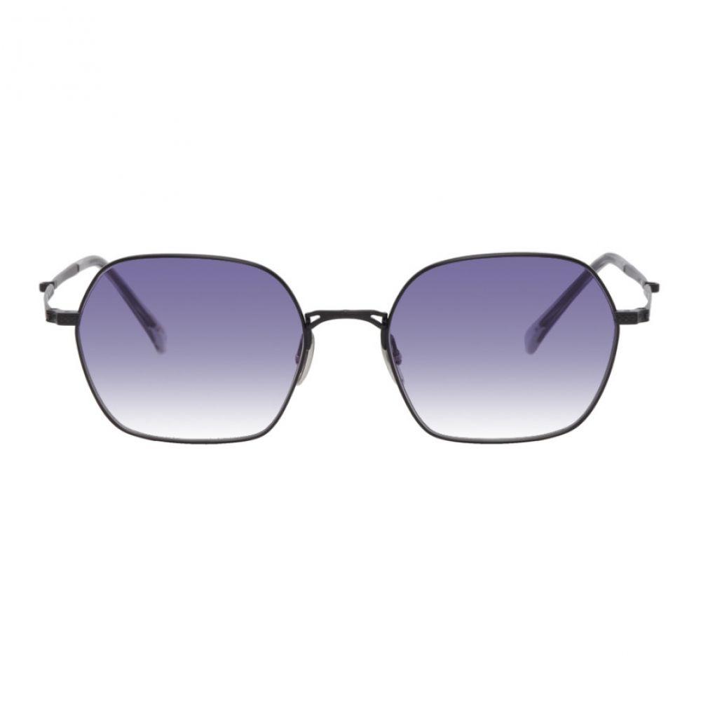 ミスター ライト Mr. Leight メンズ メガネ・サングラス 【Black Shi S Sunglasses】Matte black/Purple
