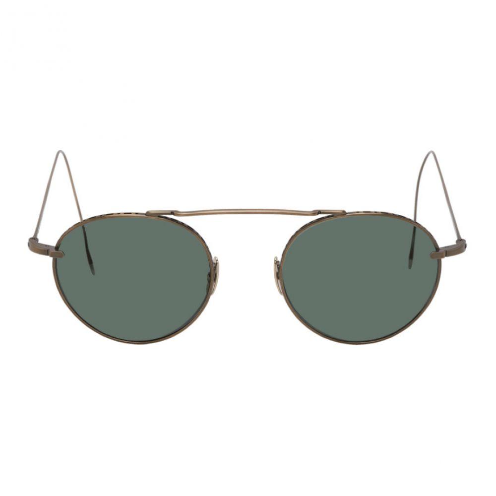 ミスター ライト Mr. Leight メンズ メガネ・サングラス 【Gold Antique Rei Sunglasses】Antique gold