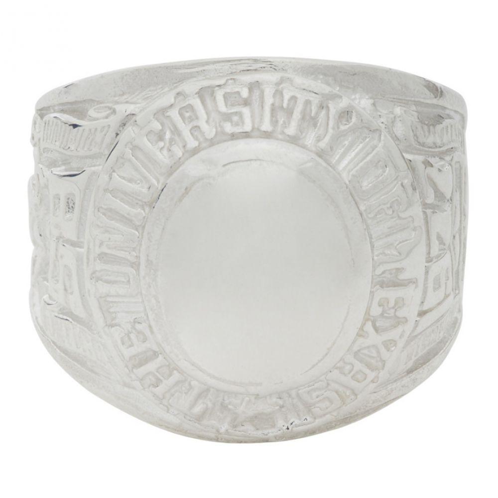 マーティンアリ Martine Ali メンズ 指輪・リング ジュエリー・アクセサリー【Silver Champion Ring】Silver