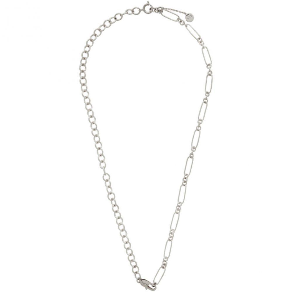 アーペーセー A.P.C. メンズ ネックレス ジュエリー・アクセサリー【Silver Jules Necklace】Silver