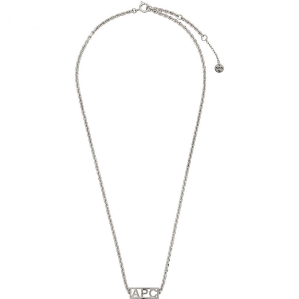 アーペーセー A.P.C. メンズ ネックレス ジュエリー・アクセサリー【Silver Noa Necklace】Silver