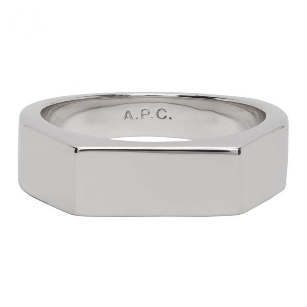 アーペーセー A.P.C. メンズ 指輪・リング ジュエリー・アクセサリー【Silver Max Ring】Silver