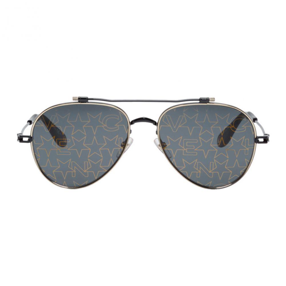ジバンシー Givenchy メンズ メガネ・サングラス 【Black GV 7057/S Gold Stars Sunglasses】Black/Gold stars