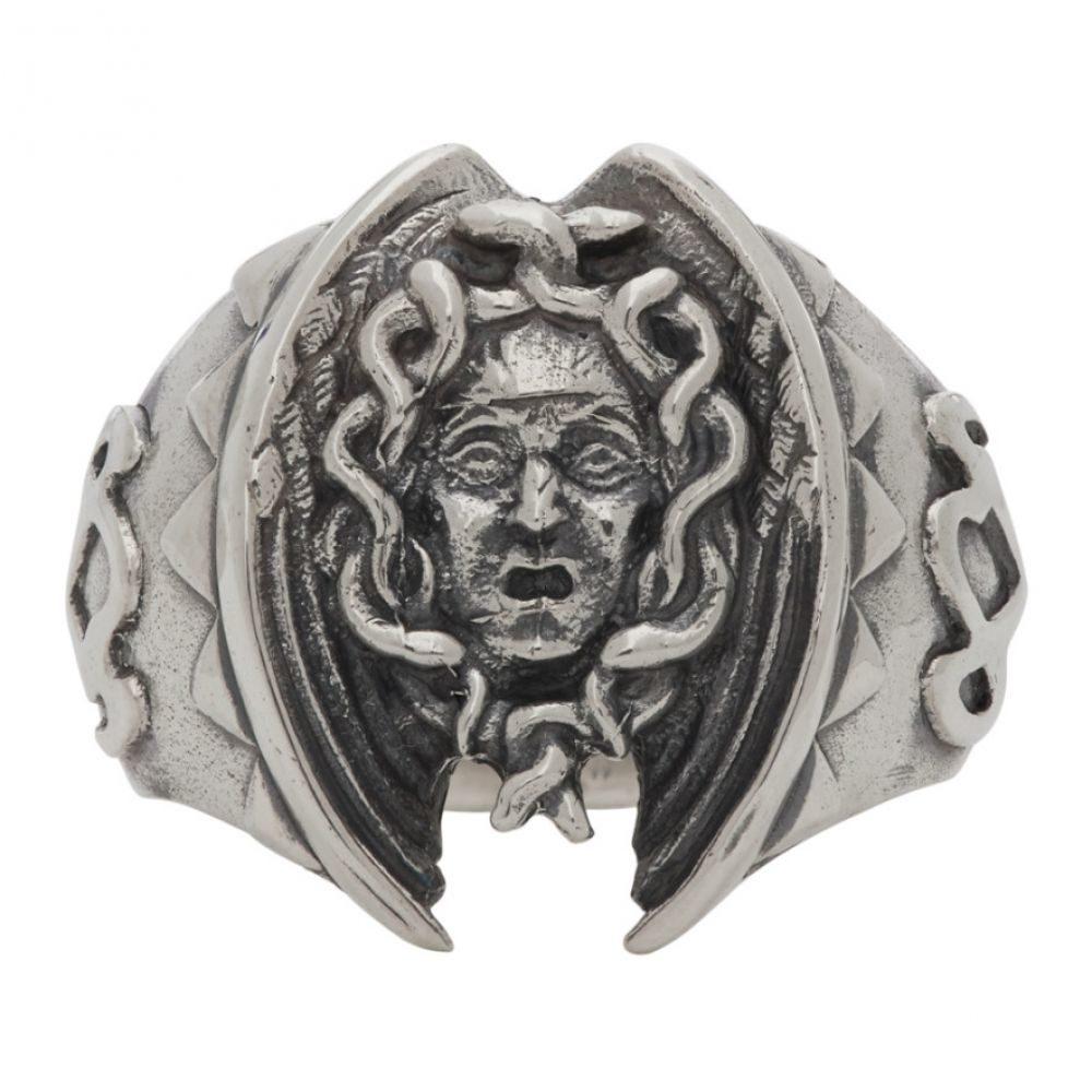 ヨウジヤマモト Yohji Yamamoto メンズ 指輪・リング ジュエリー・アクセサリー【Silver Medusa Ring】Silver