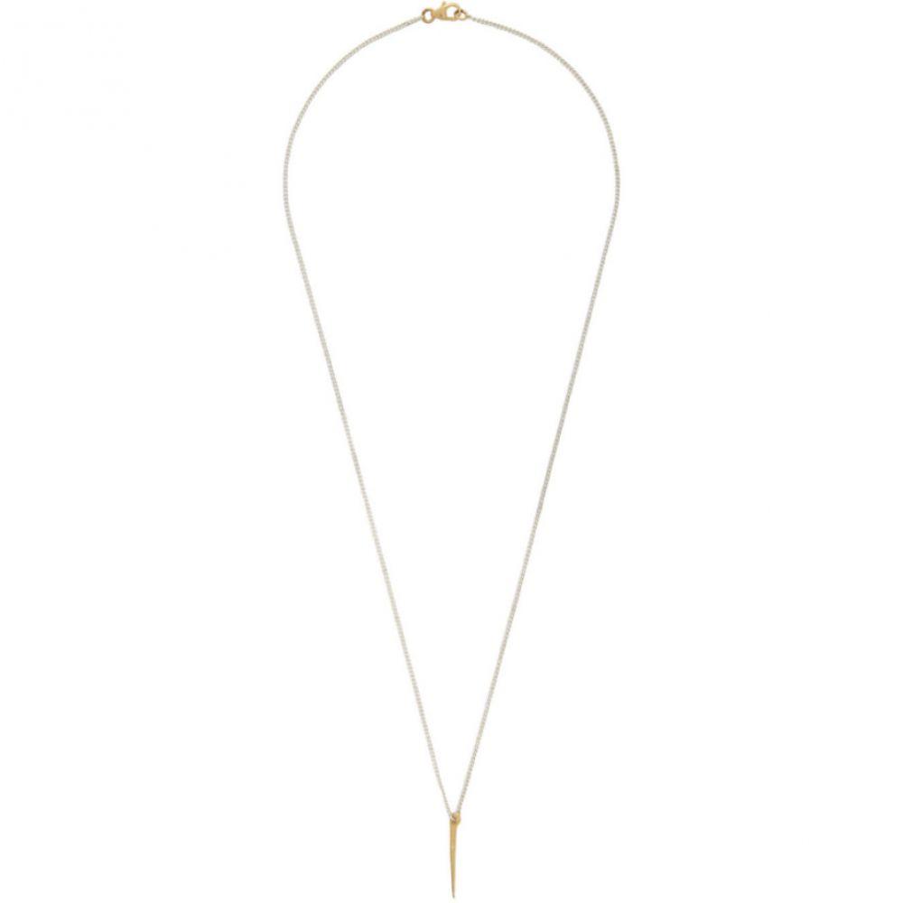 パールズ ビフォア スワイン Pearls Before Swine メンズ ネックレス ジュエリー・アクセサリー【Silver & Gold Thorn Necklace】Yellow gold