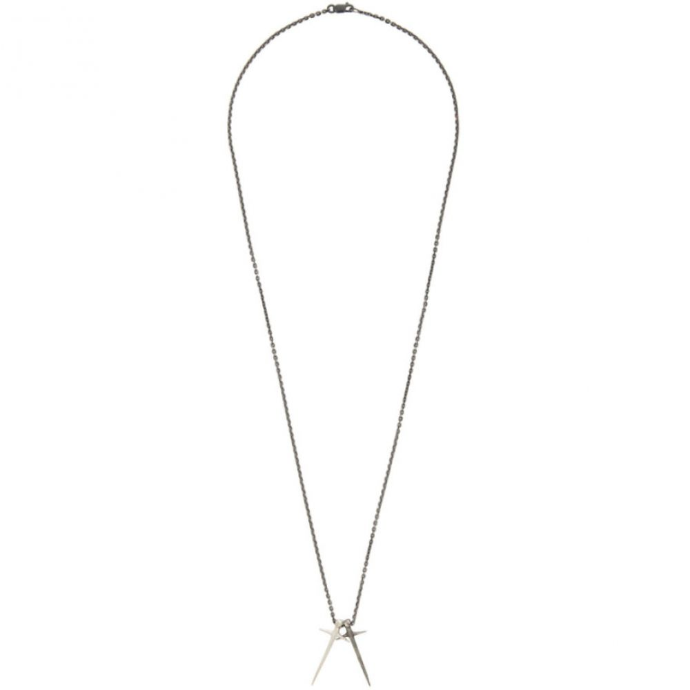 パールズ ビフォア スワイン Pearls Before Swine メンズ ネックレス ジュエリー・アクセサリー【Silver Thorn Cross Necklace】Silver