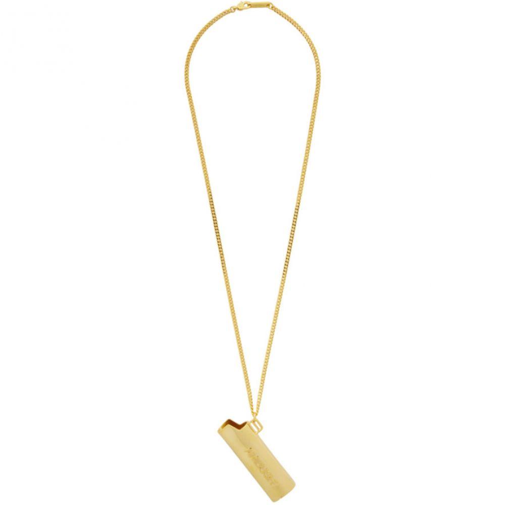アンブッシュ Ambush メンズ ネックレス ジュエリー・アクセサリー【Gold Small Lighter Case Necklace】Gold