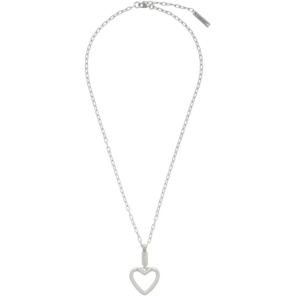 アンブッシュ Ambush メンズ ネックレス ハート ジュエリー・アクセサリー【Silver Heart Necklace】Silver