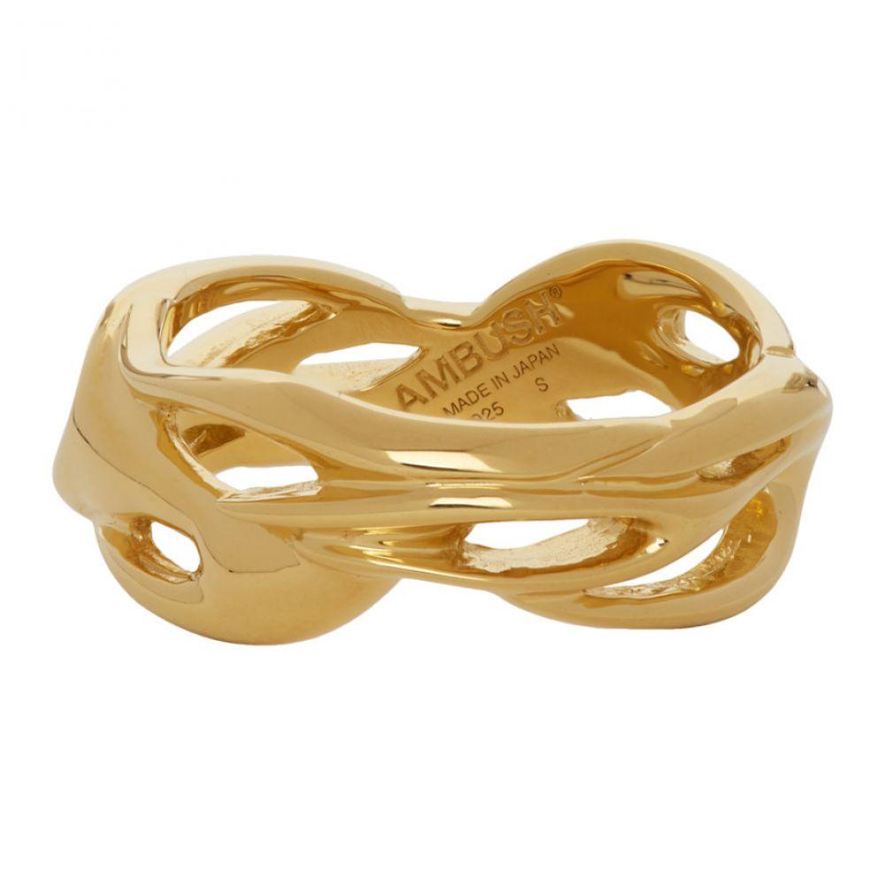 アンブッシュ Ambush メンズ 指輪・リング ジュエリー・アクセサリー【Gold Flame Ring】Gold