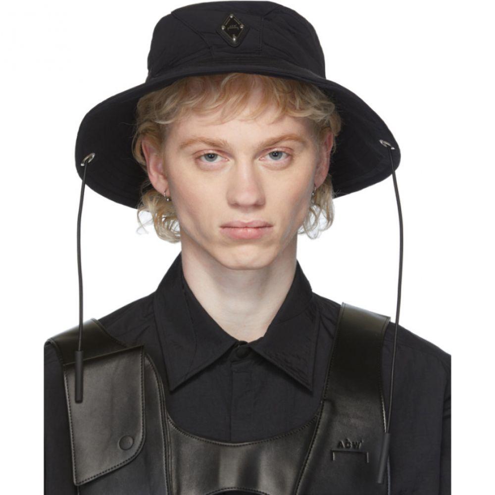 アコールドウォール A-Cold-Wall* メンズ ハット バケットハット 帽子【Black Drawcord Bucket Hat】Black