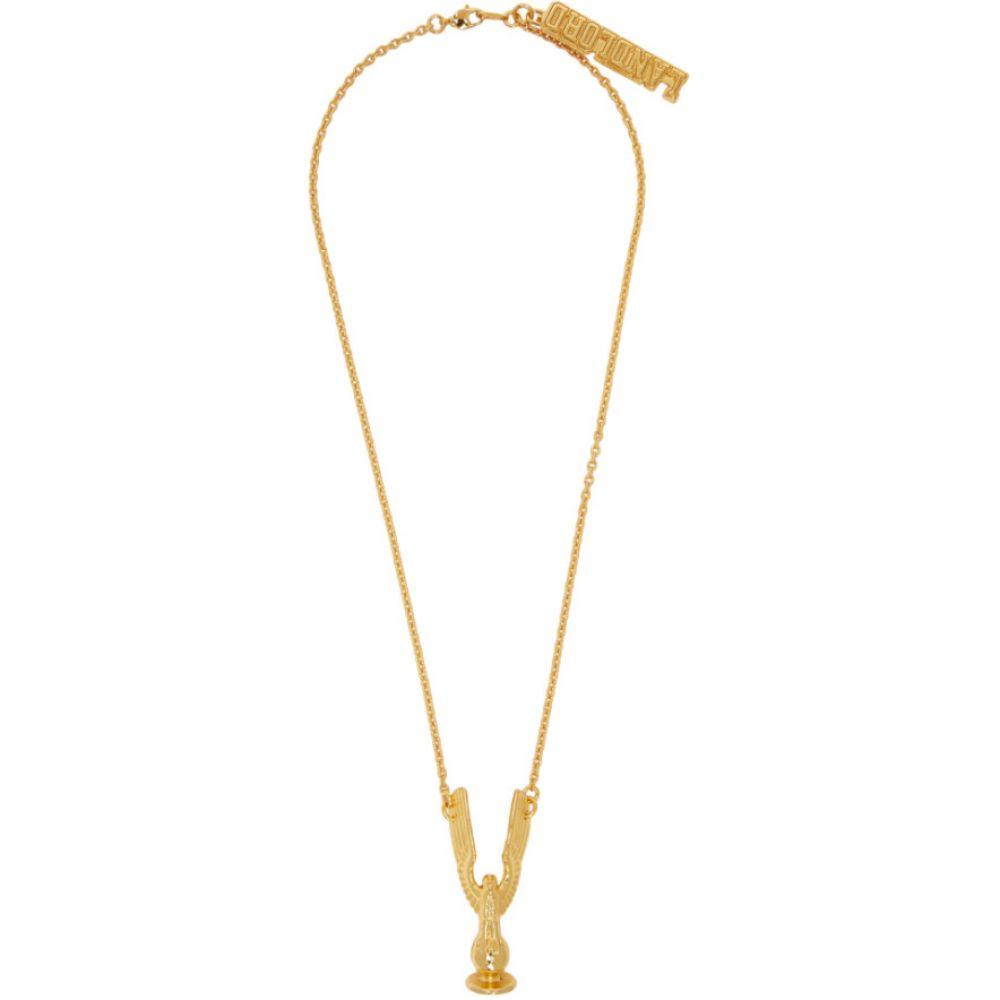 ランドロード Landlord メンズ ネックレス ジュエリー・アクセサリー【Gold Sports Trophy Necklace】Gold