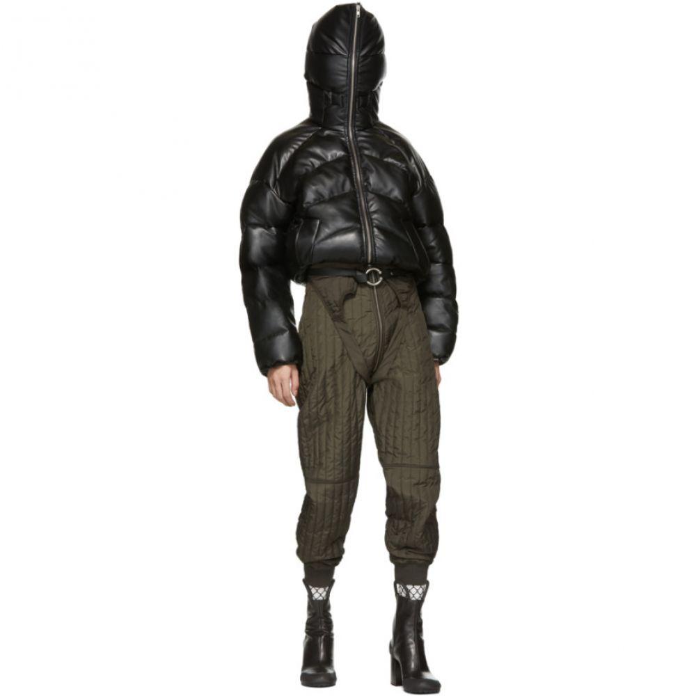 ランダム アイデンティティーズ Random Identities メンズ ダウン・中綿ジャケット アウター【Black Rubber Duvet Jacket】