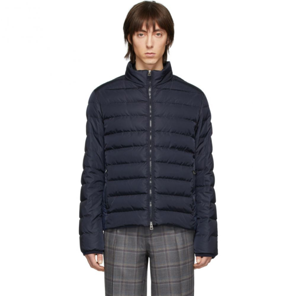 エトロ Etro メンズ ダウン・中綿ジャケット アウター【Navy Down Sportswear Jacket】Navy