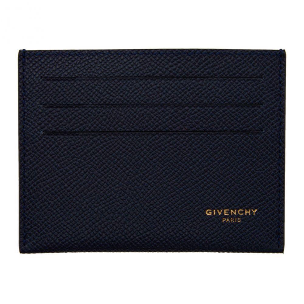ジバンシー Givenchy メンズ カードケース・名刺入れ カードホルダー【Navy Calfskin 3CC Card Holder】Navy