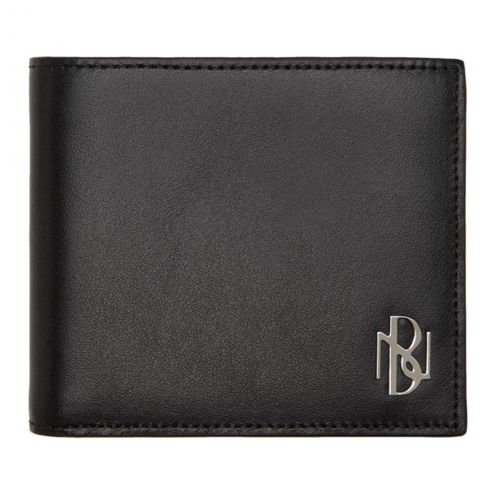 ニール バレット Neil Barrett メンズ 財布 【Black Simple Logo Wallet】Black