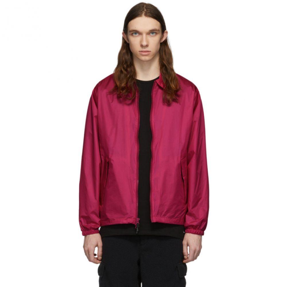 ベリーウォーム The Very Warm メンズ ブルゾン ミリタリージャケット スイングトップ アウター【Pink Harrington Bomber Jacket】Fuschia