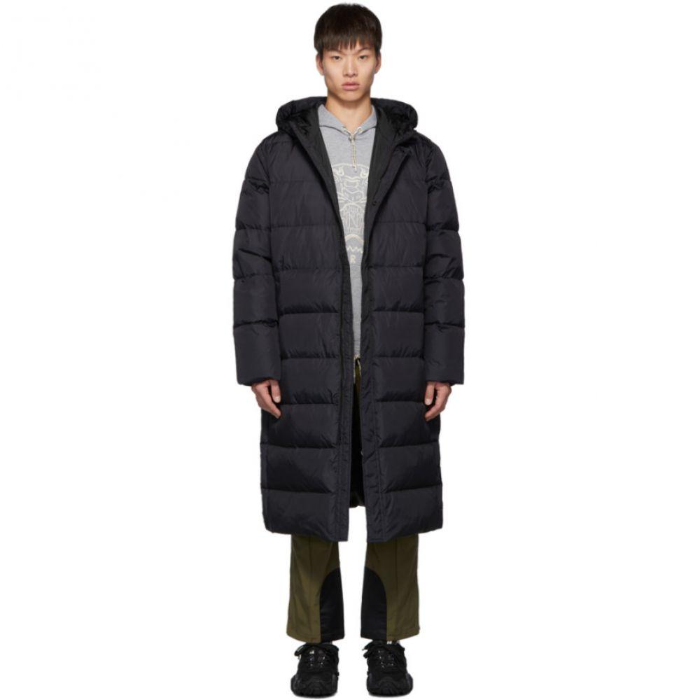 ケンゾー Kenzo メンズ ダウン・中綿ジャケット アウター【Black Down Quilted Capsule Expedition Puffer Coat】Black