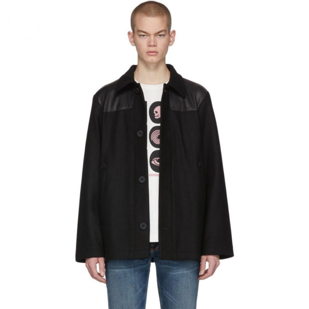 ヌーディージーンズ Nudie Jeans メンズ ジャケット ドンキージャケット アウター【Black Bertie Donkey Jacket】Black