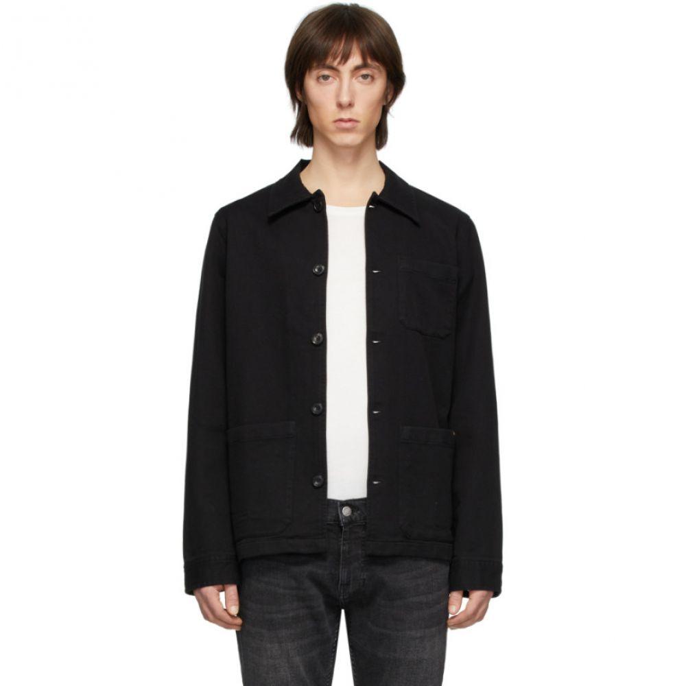 ヌーディージーンズ Nudie Jeans メンズ ジャケット アウター【Black Barney Jacket】Black