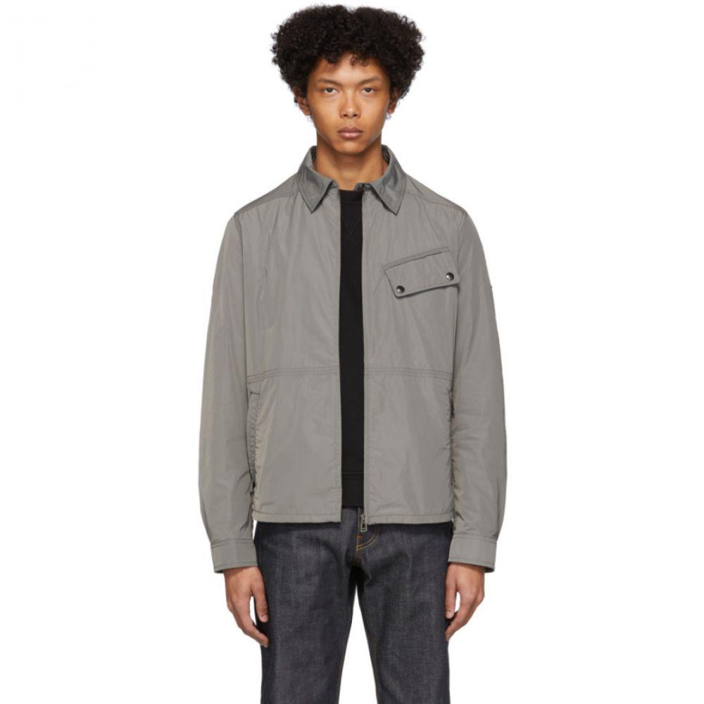 ベルスタッフ Belstaff メンズ ジャケット アウター【Grey Camber Jacket】Dusk grey