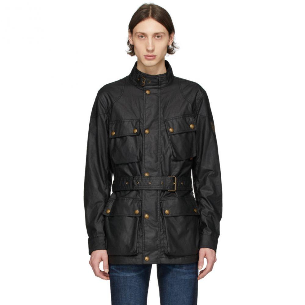 ベルスタッフ Belstaff メンズ ジャケット アウター【Black Trialmaster Jacket】Black