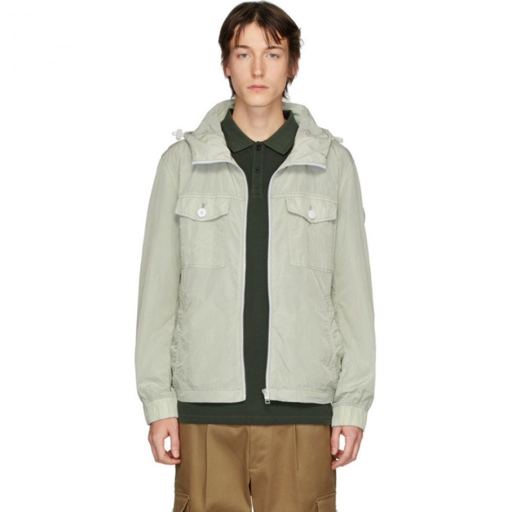 ヒューゴ ボス Boss メンズ ジャケット アウター Grey ODEAR1-D Fabric Jacket Silver 新居祝い 送料無料 結婚式引出物