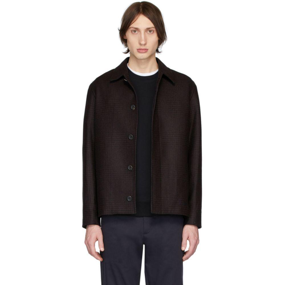 ノースプロジェクト Norse Projects メンズ ジャケット アウター【Burgundy Wool Overdyed Elliot Jacket】Mulberry red