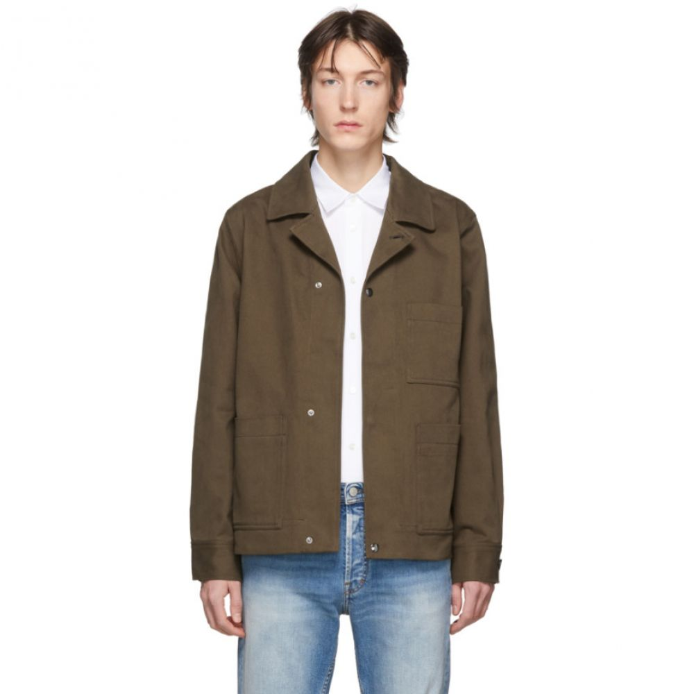 アクネ ストゥディオズ Acne Studios メンズ ジャケット アウター【Khaki Twill Three-Pocket Chore Jacket】Forest green
