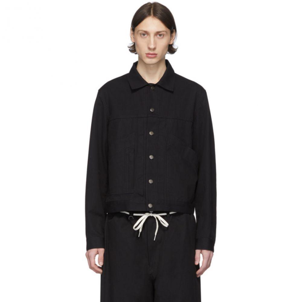ワイスリー Y-3 メンズ ジャケット アウター【Black Canvas Workwear Jacket】Black