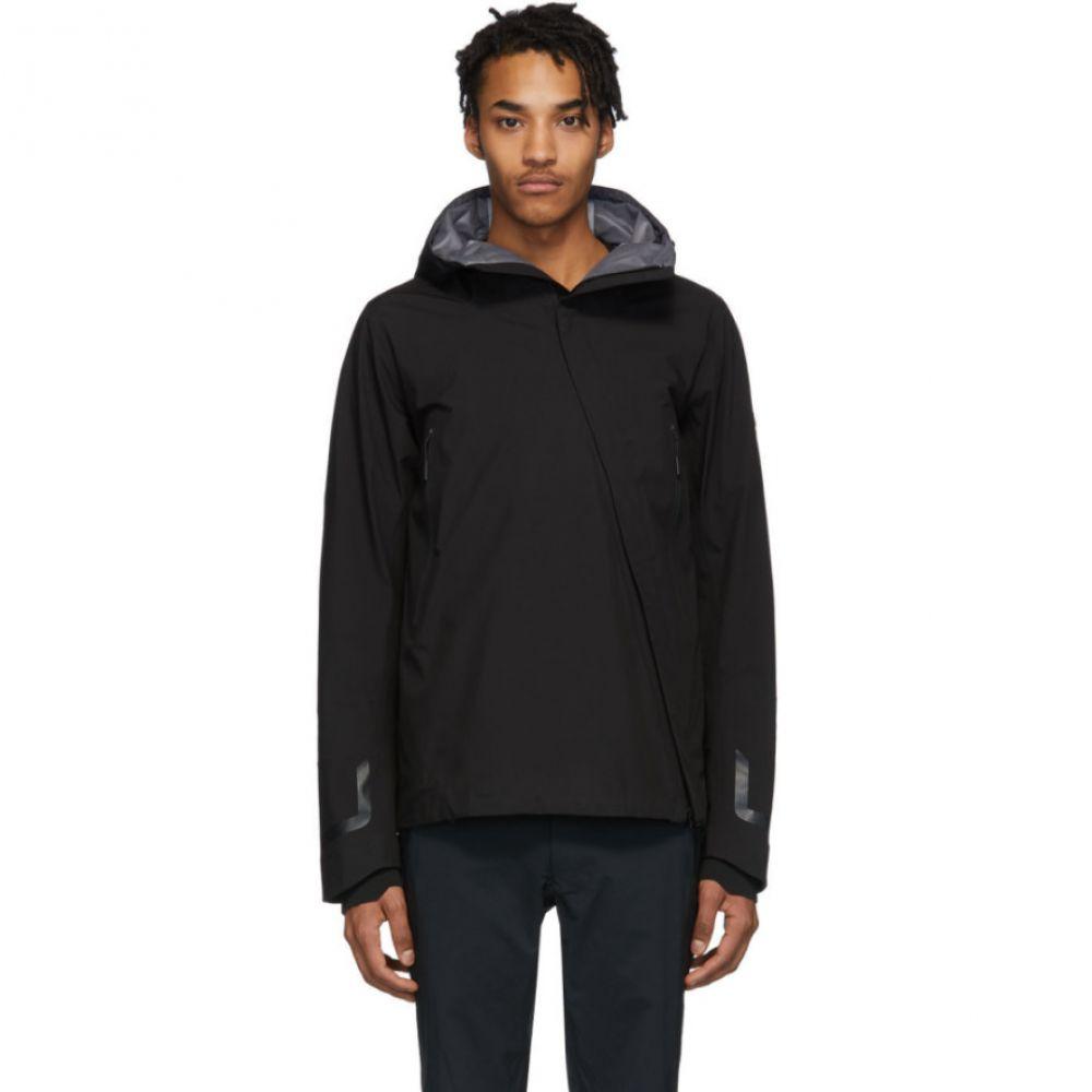 デサント オルテライン Descente Allterrain メンズ ジャケット ハードシェルジャケット アウター【Black Sun Shield Hardshell Jacket】Black