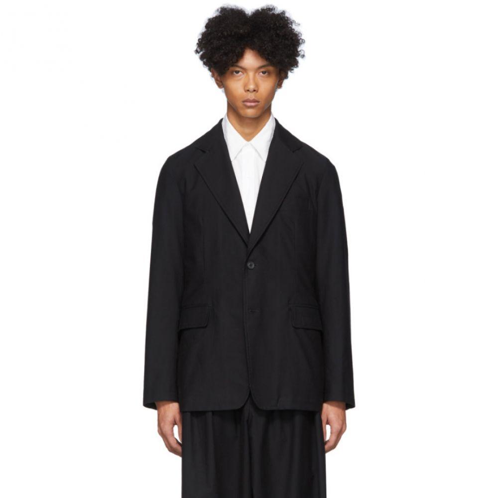 ヨウジヤマモト Yohji Yamamoto メンズ ジャケット アウター【Black Twill Jacket】Black