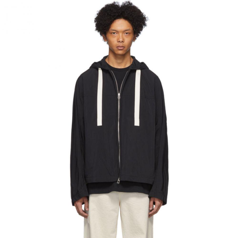 オーエーエムシー OAMC メンズ ジャケット ウィンドブレーカー アウター【Black Nylon Corded Windbreaker Jacket】Black