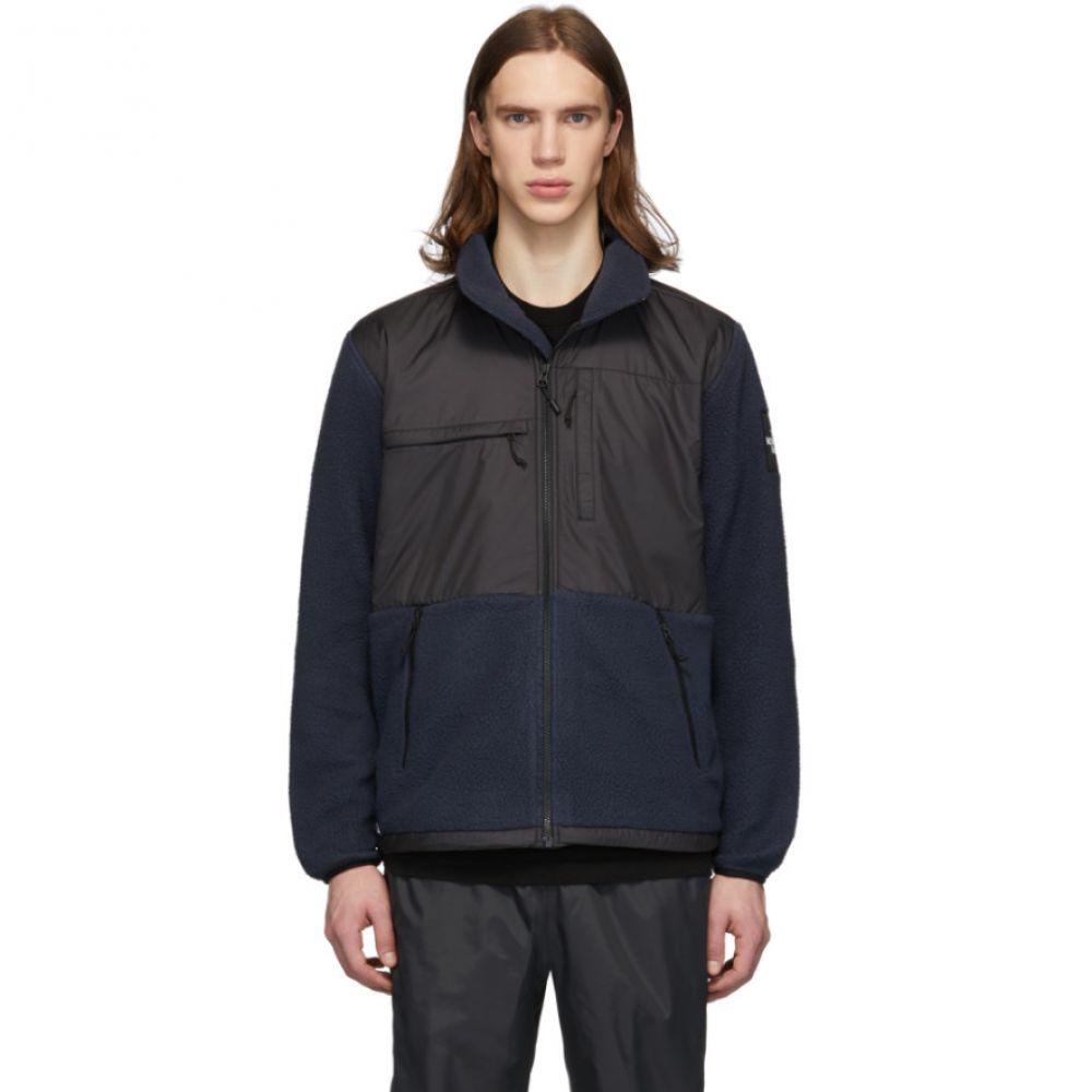 ザ ノースフェイス The North Face メンズ フリース トップス【Navy & Black Fleece Denali Jacket】Urban navy/Black