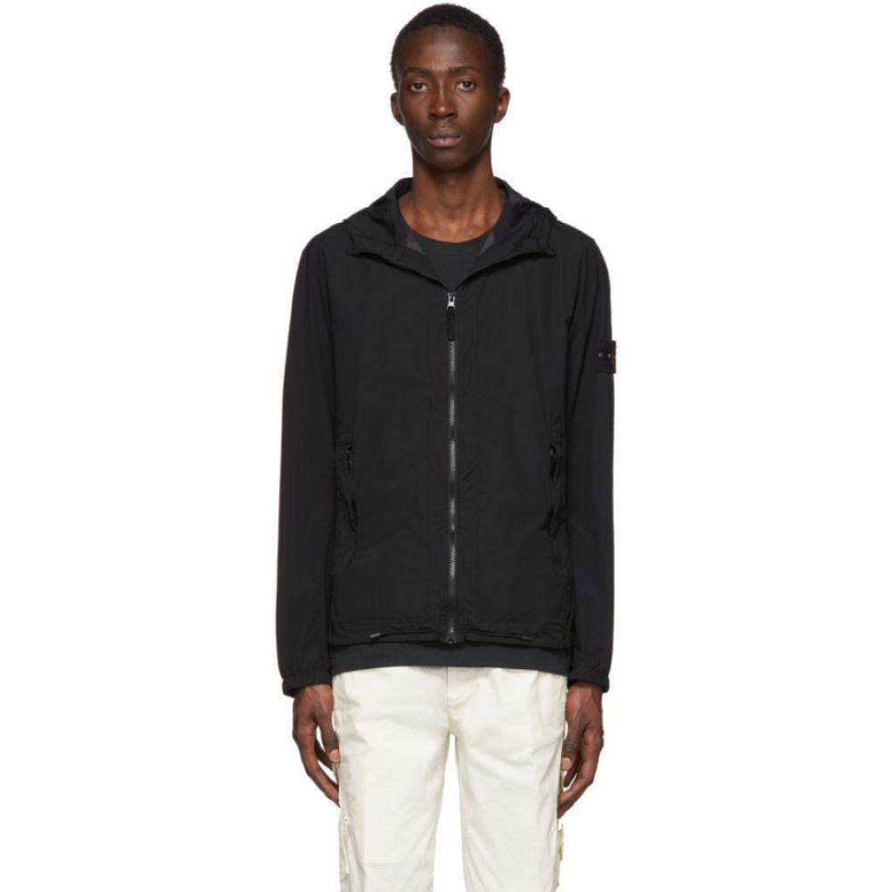 ストーンアイランド Stone Island メンズ ジャケット アウター【Black Skin Touch Packable Jacket】Black
