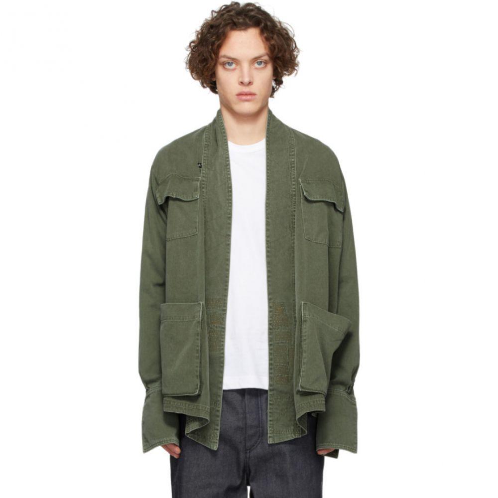 グレッグ ローレン Greg Lauren メンズ ジャケット アウター【Green Baker Studio Jacket】Army