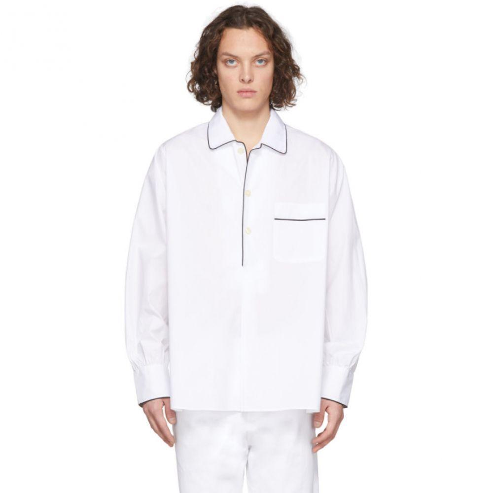 ランダム アイデンティティーズ Random Identities メンズ シャツ トップス【White 'Sponsored' Shirt】White