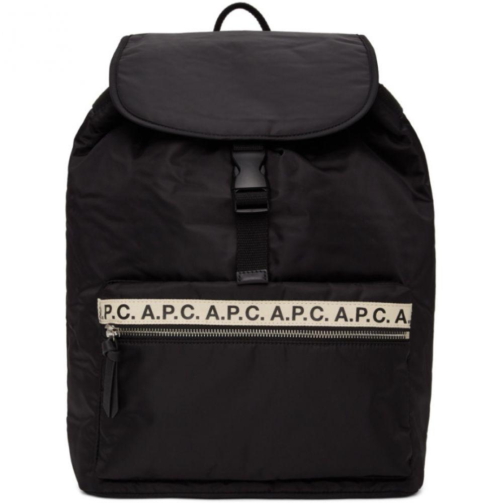 アーペーセー A.P.C. レディース バックパック・リュック バッグ【Black Clip Repeat Backpack】Black