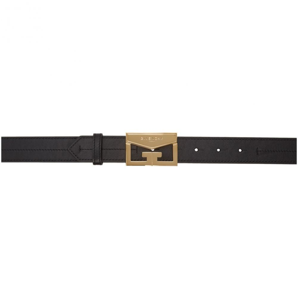 ジバンシー Givenchy レディース ベルト 【Black Leather Mystic Belt】Black