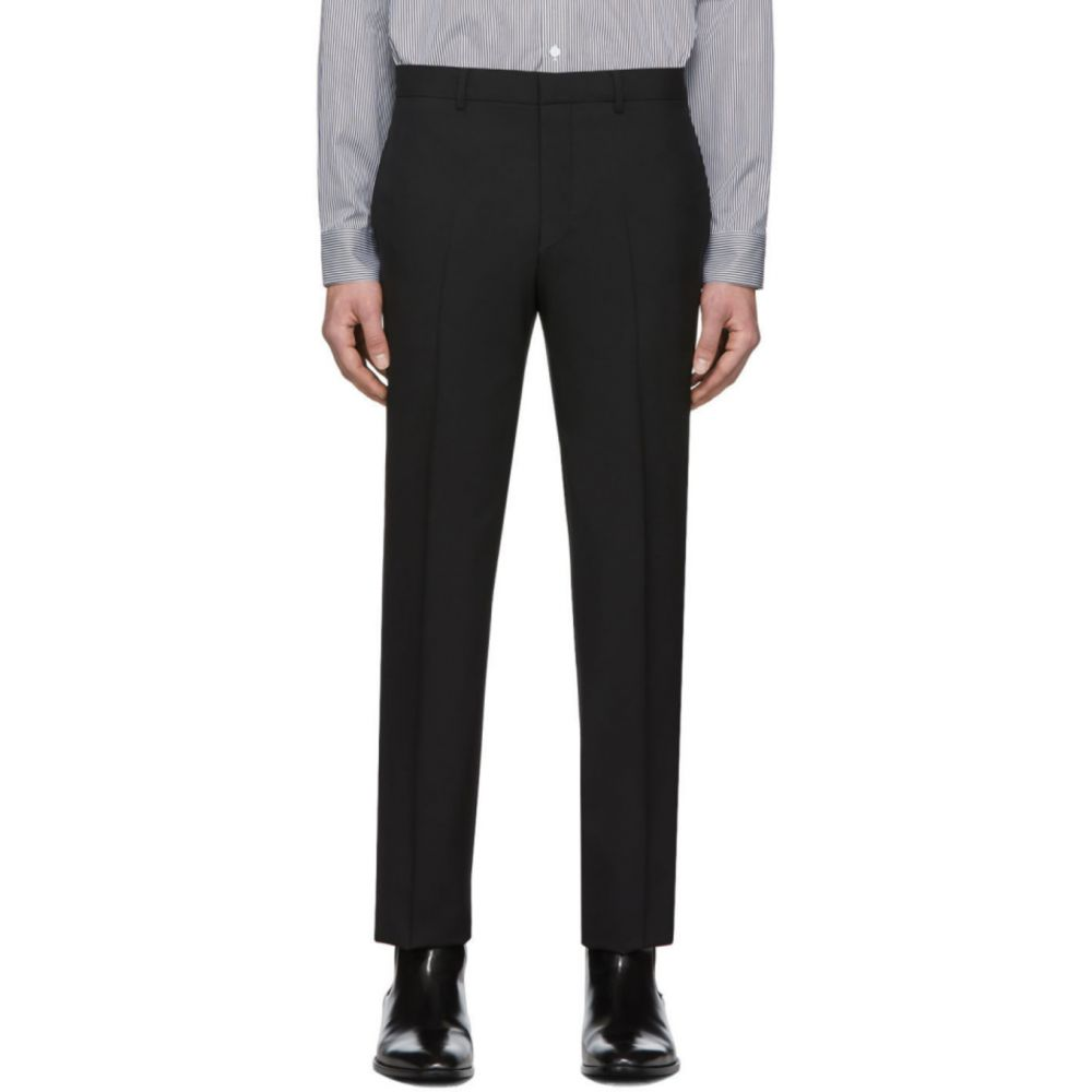 ジバンシー Givenchy メンズ ボトムス・パンツ 【Black Tape Detail Formal Trousers】Black