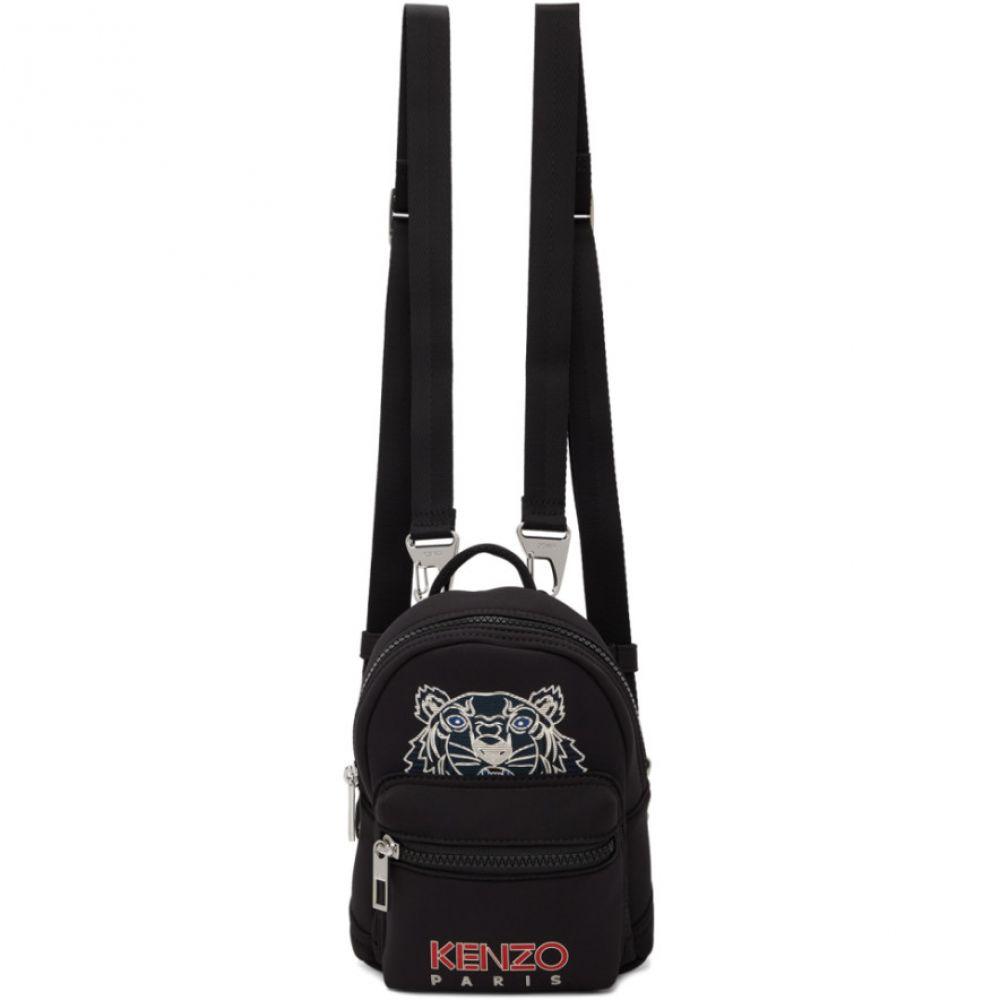 ケンゾー Kenzo レディース バックパック・リュック バッグ【Black Mini Neoprene Kampus Backpack】Black