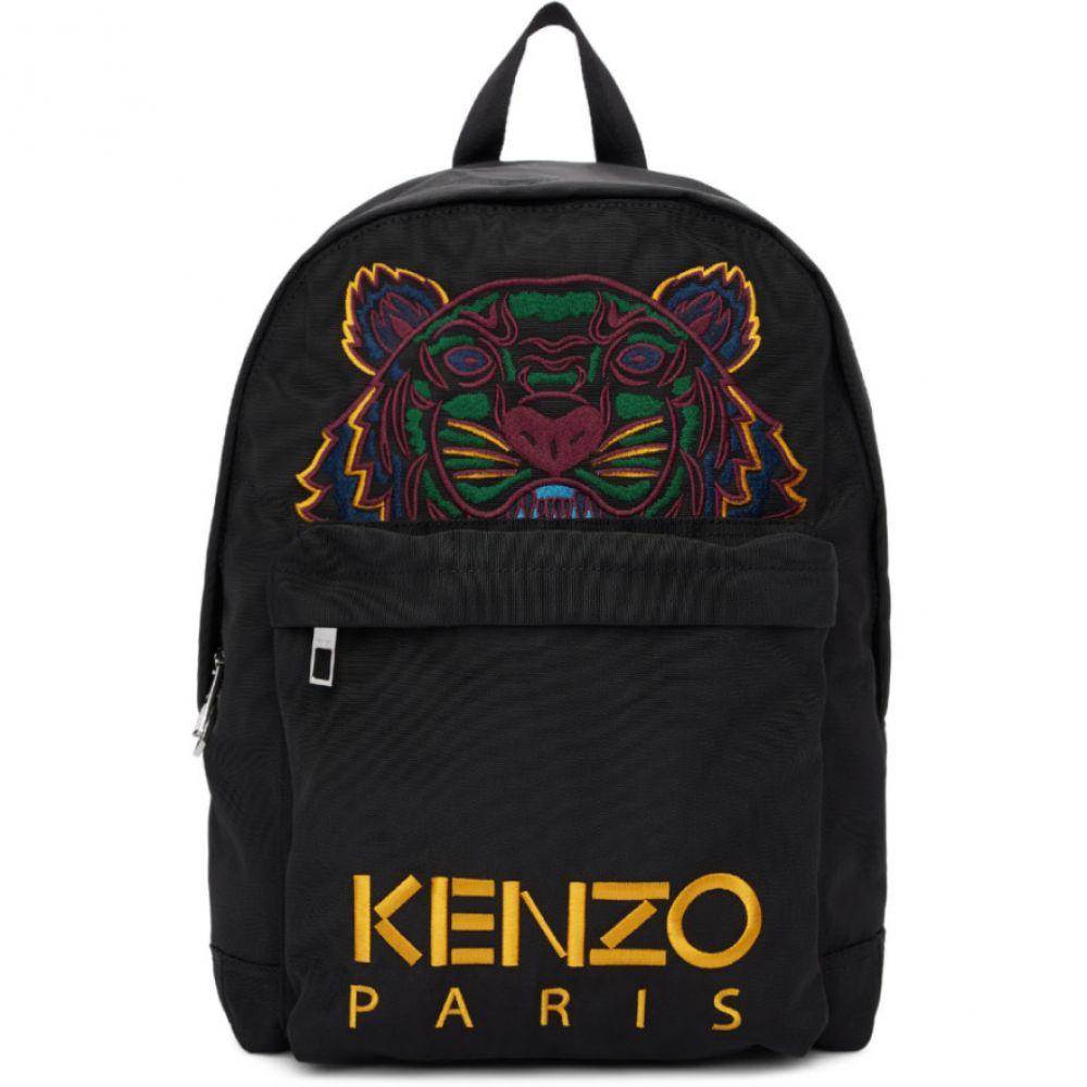 ケンゾー Kenzo レディース バックパック・リュック バッグ【Black Canvas Tiger Backpack】Black