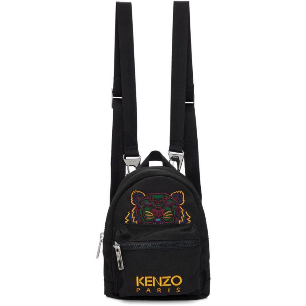 ケンゾー Kenzo レディース バックパック・リュック バッグ【Black Canvas Mini Tiger Backpack】Black