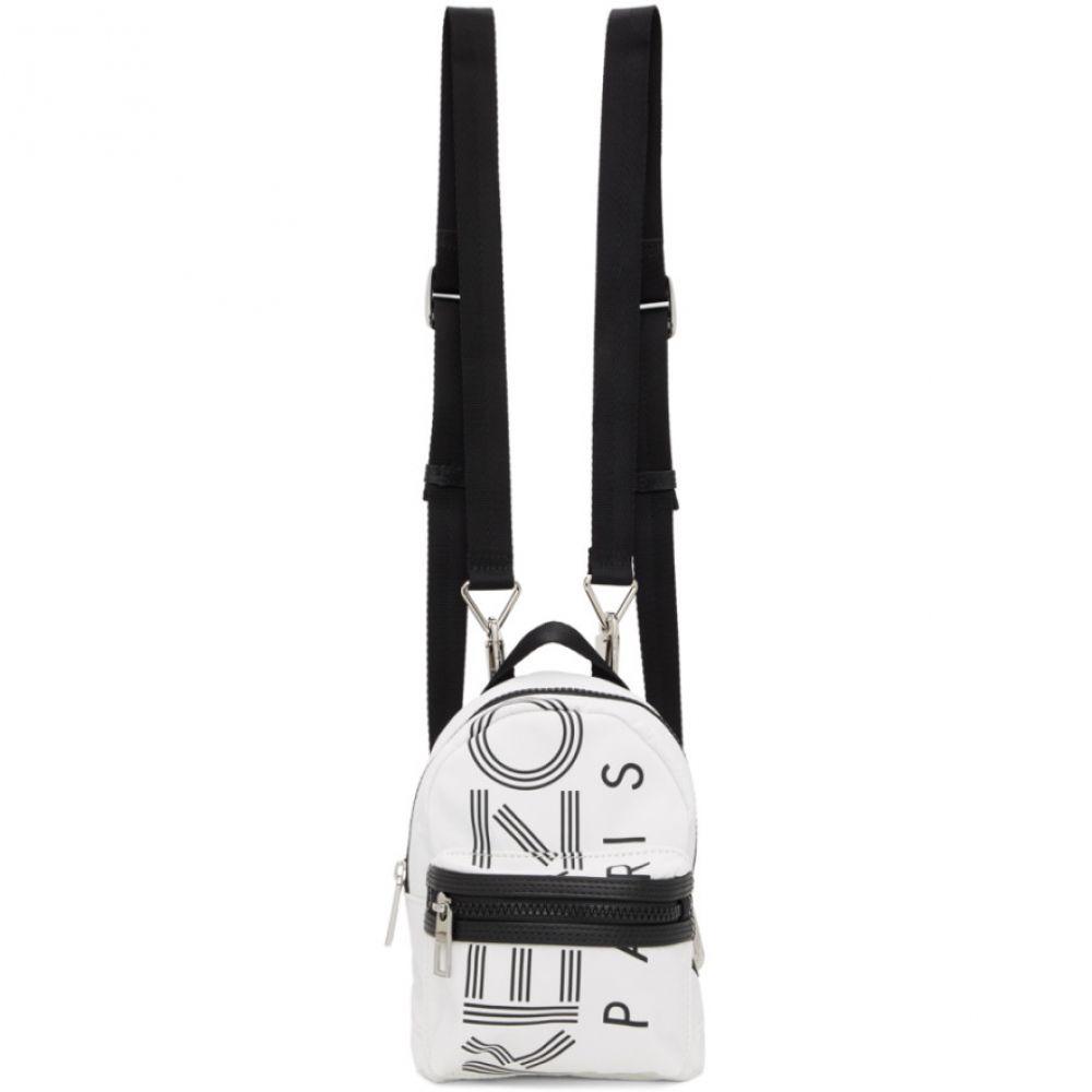 ケンゾー Kenzo レディース バックパック・リュック バッグ【White Mini Crew Backpack】Off-white