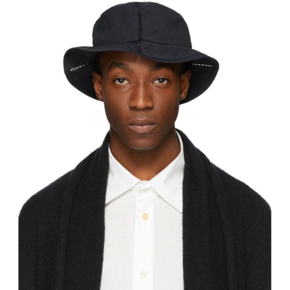 イッセイ ミヤケ Issey Miyake Men メンズ ハット 帽子【Black Span Hat】Black