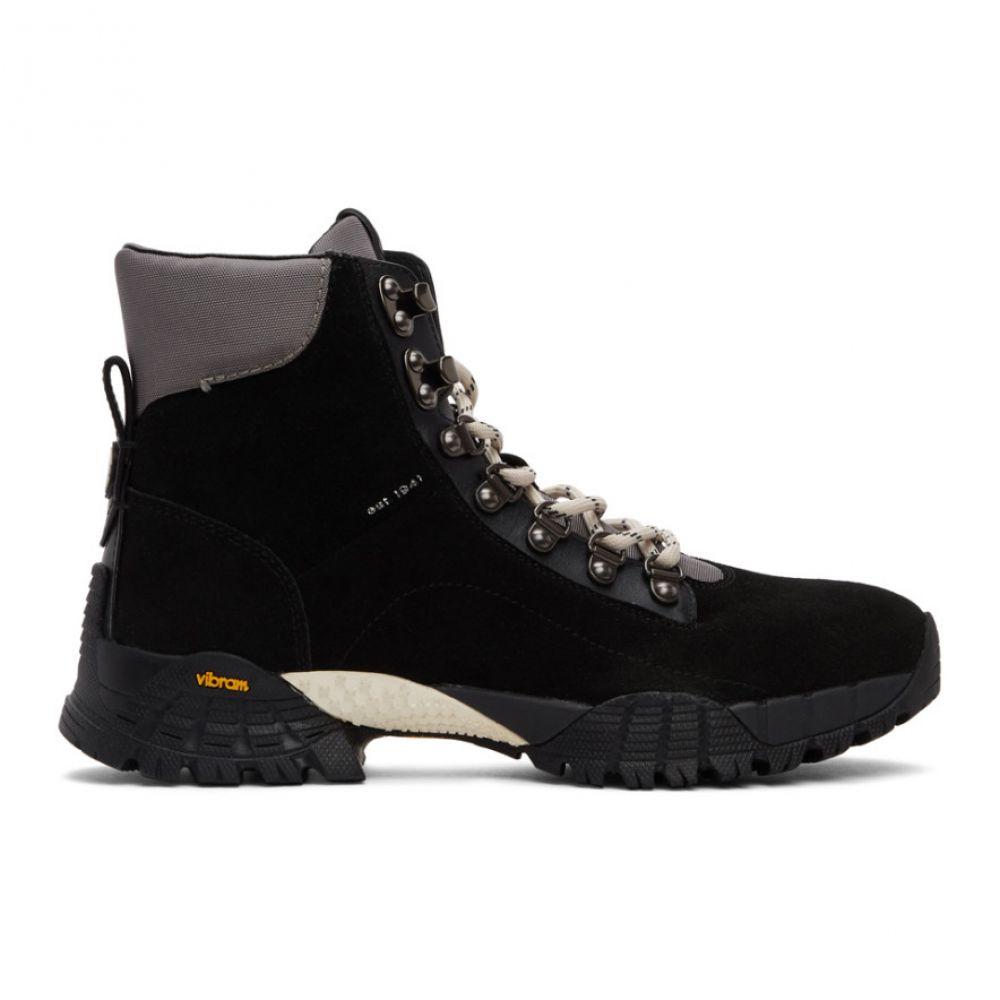 コーチ Coach 1941 メンズ ブーツ シューズ・靴【Black Hybrid Urban Hiker Boots】Black